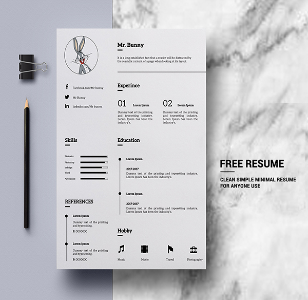 25 Fresh Free Professional Resume Templates - 21