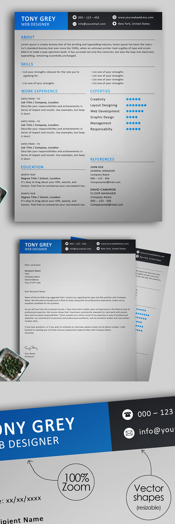 25 Fresh Free Professional Resume Templates - 22