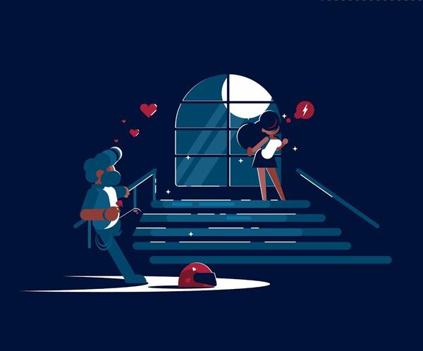 How to Create Romance Scene in Adobe Illustrator Tutorial