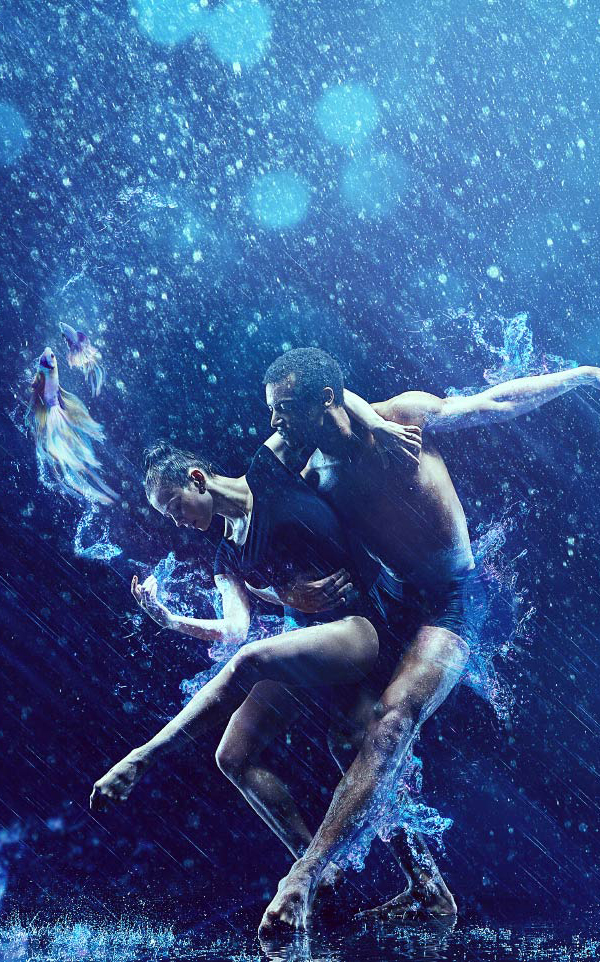 How to Create a Surreal Dance Scene in the Rain in Affinity Photo