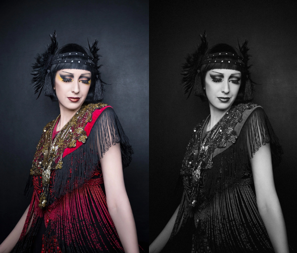 How to Add on Photo Faded 1920s Feel in Photoshop Tutorial