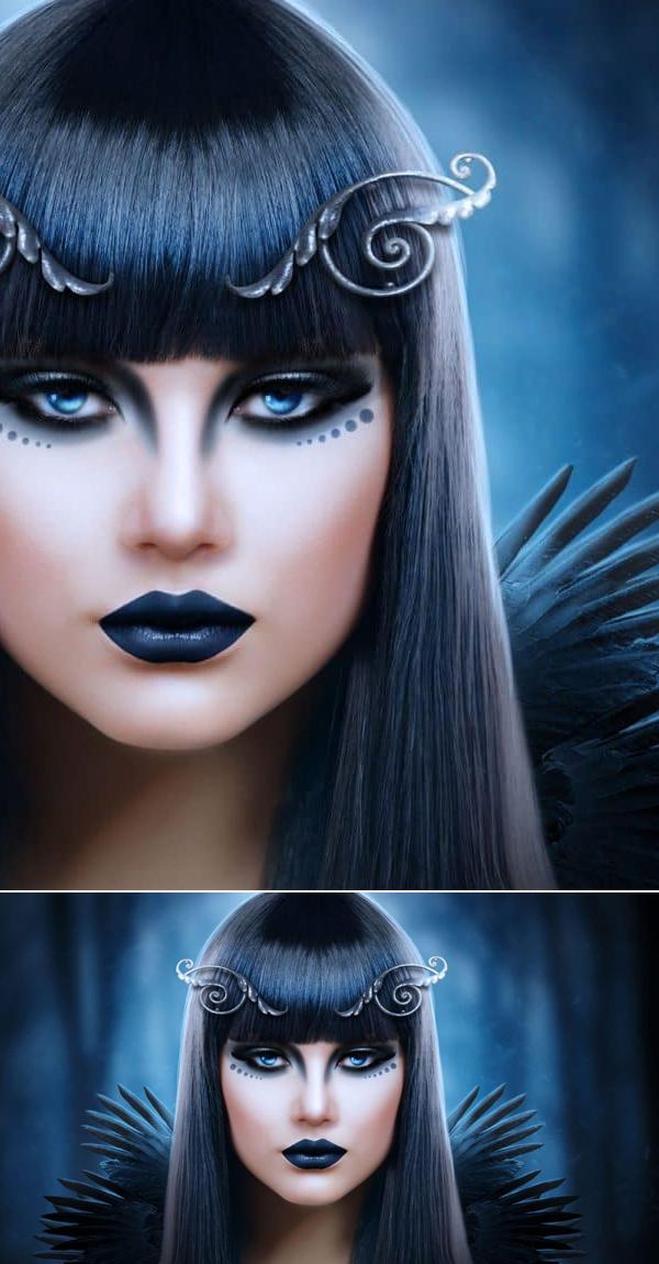 How to Create Dark Portrait Manipulation in Photoshop Tutorial