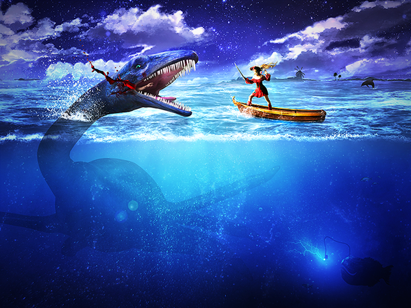 Create an Epic Pirate Sea Battle in Photoshop