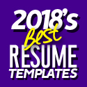Post thumbnail of 2018's Best Selling Resume Templates