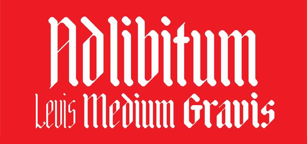 Adlibitum Free Font