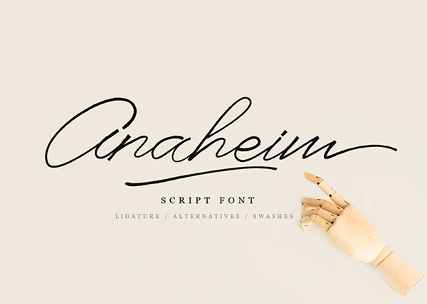 Anaheim Script Free Font