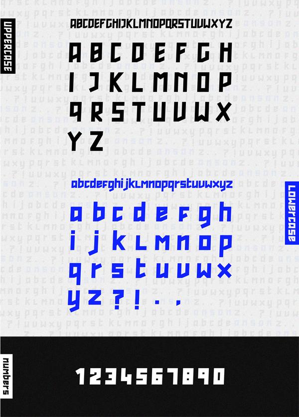 Anson Font Letters