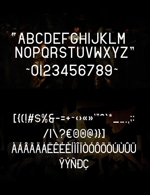Santio Font Letters