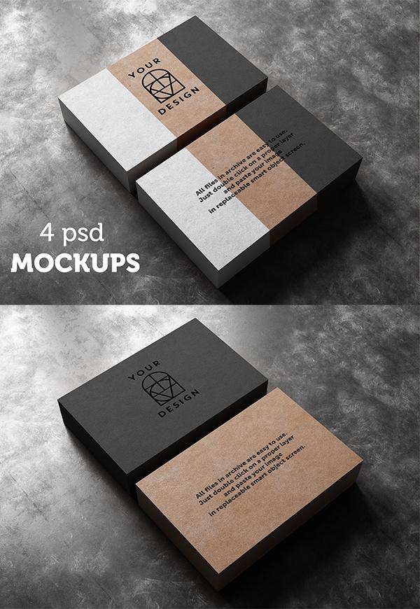 Business Card Mockup - 1