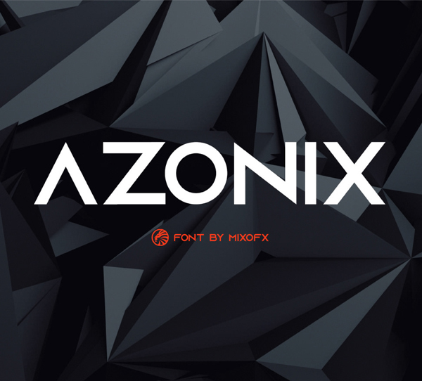 Azonix Modern Sans-serif Free Font