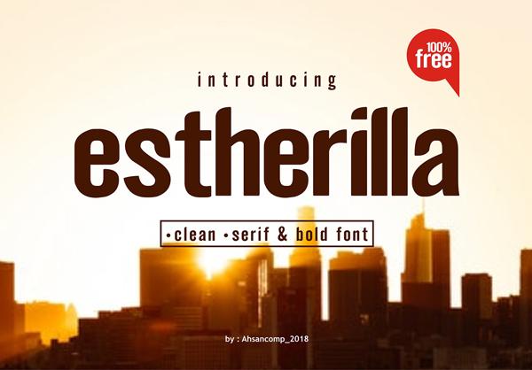 Estherilla Free Font