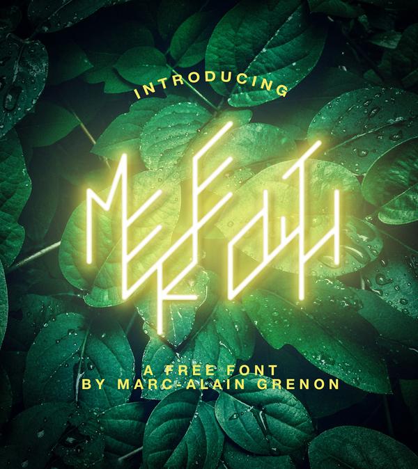 Meredith Free Font
