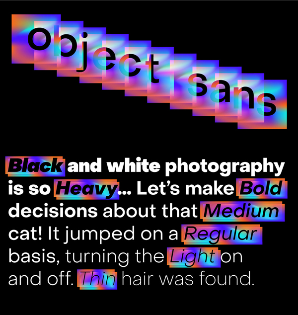 Object Sans Free Font