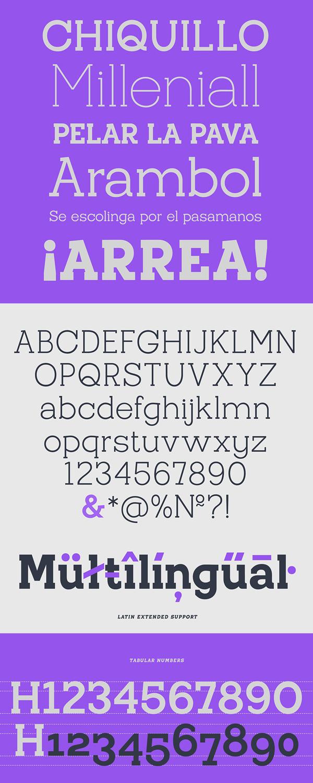 Pardal Font Letters