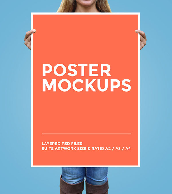 Big Poster Free Mockup