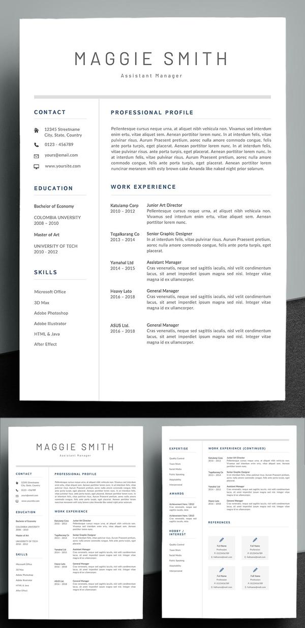 Simple & Creative Resume Template