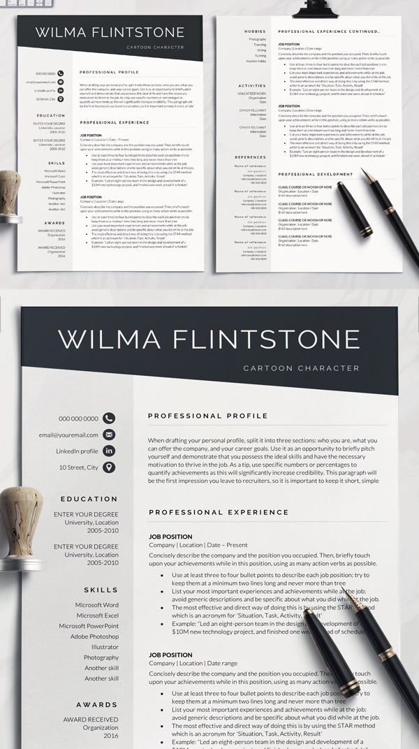 Great Professional Resume Template
