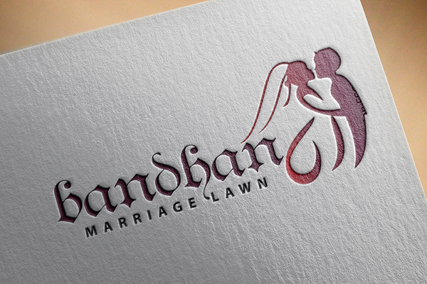 Luxury Wedding Logo Template Preview - 3