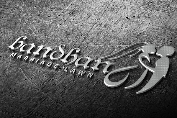 Luxury Wedding Logo Template Preview - 7