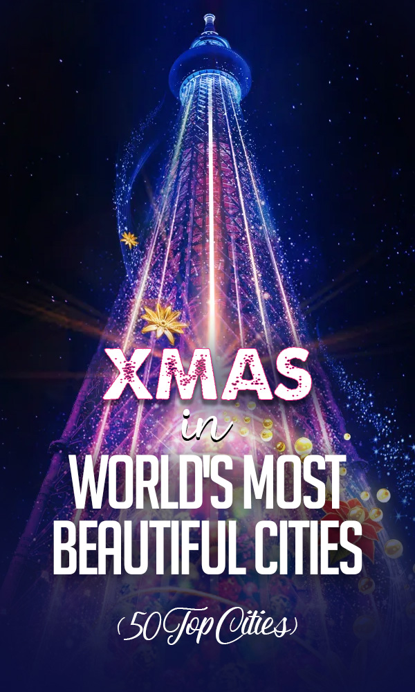 Christmas in World's Most Beautiful Cities