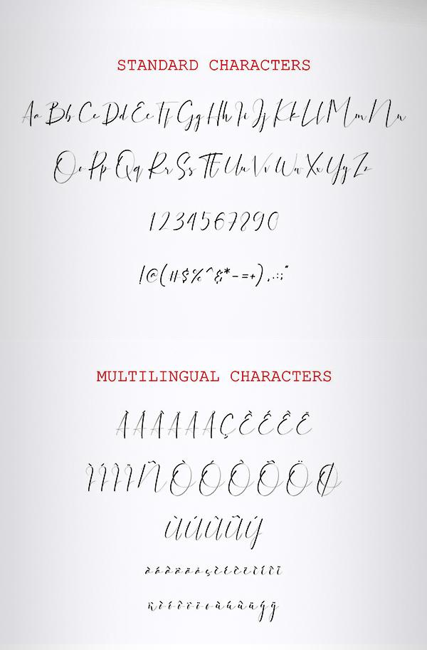Dattebayo Font Letters