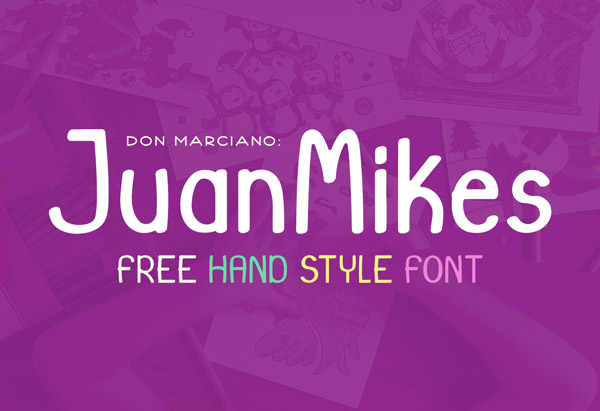 JuanMikes Free Font