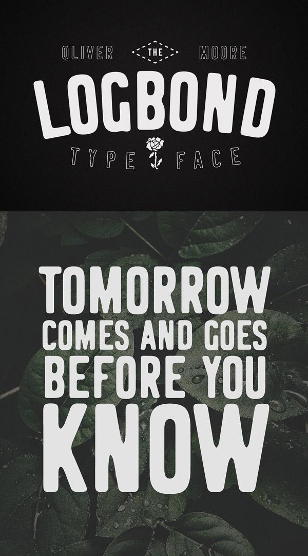 Logbond Free Font