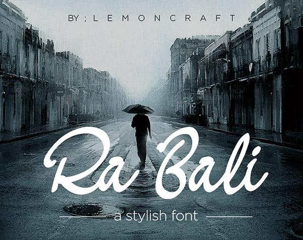 Ra Bali Free Font