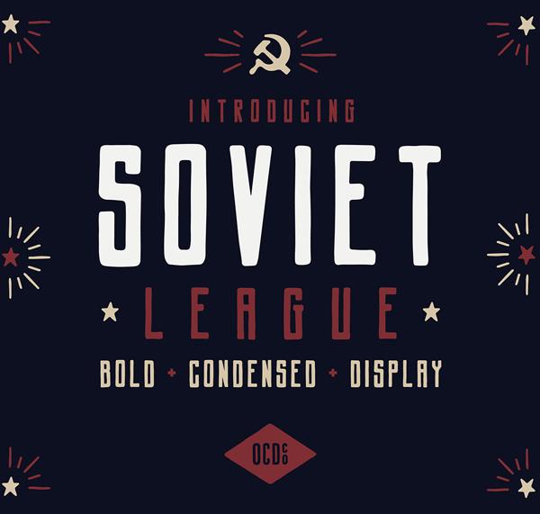 Soviet League Free Font