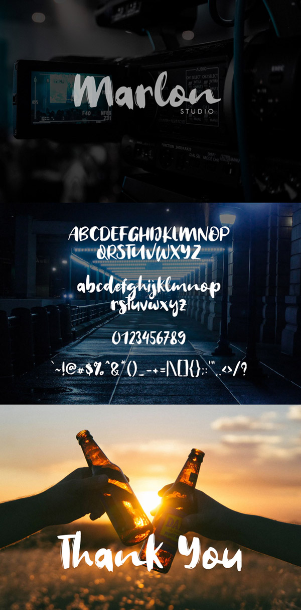 Welcome 2019 Font Font and Letters