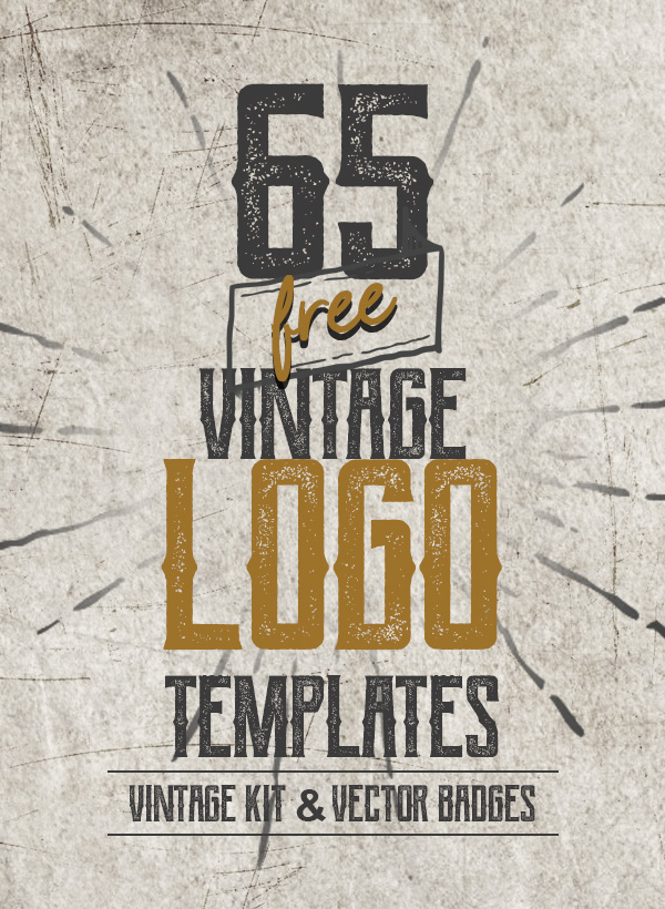 65 Free Vintage Logo Templates and Badges