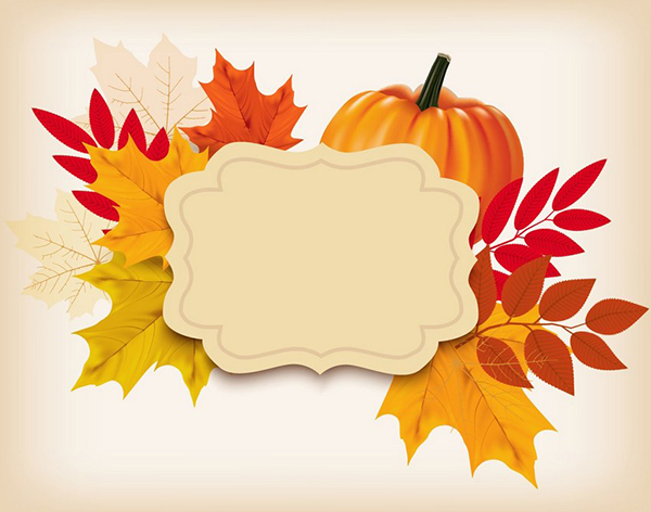 How to Create a New Year 2019 Background With a Pumpkin and Leaves in Adobe Illustrator