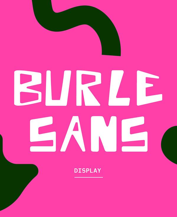 Burle Sans Free Font