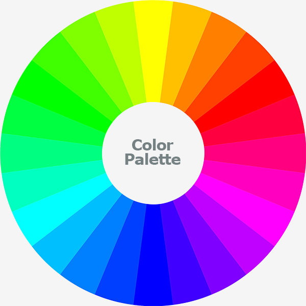 Play with The Color Palette