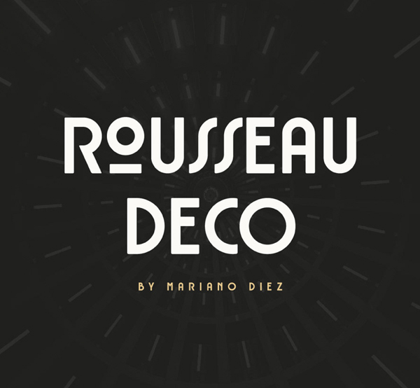 Rousseau Deco Free Font