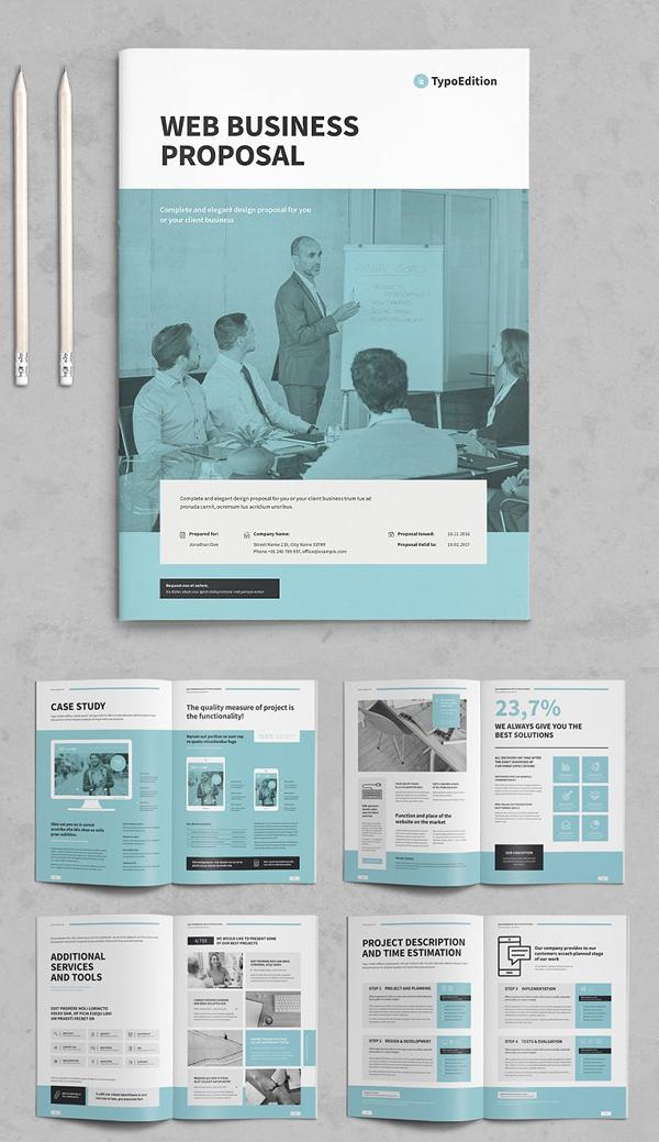 Elegant Business Proposal Brochure