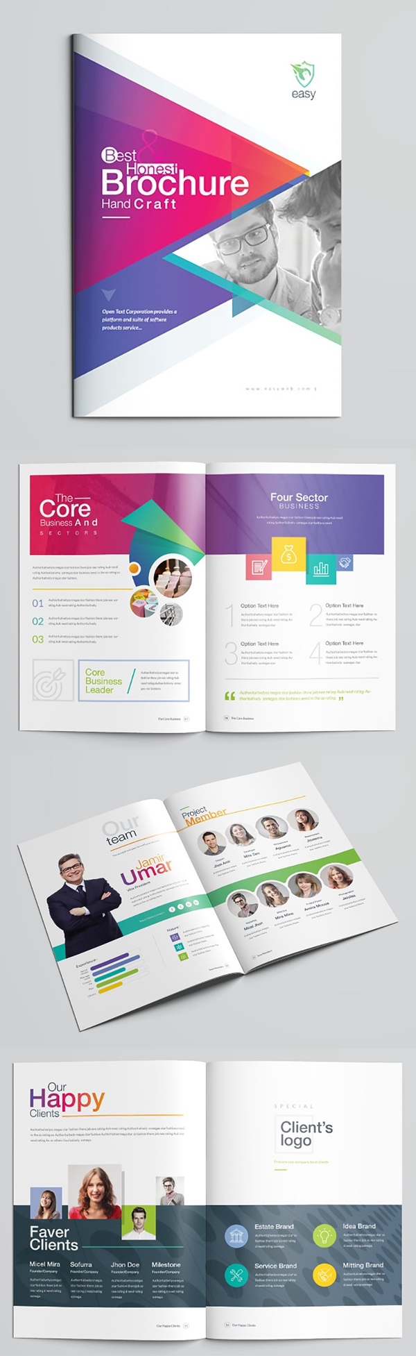 Awesome Brochure Template