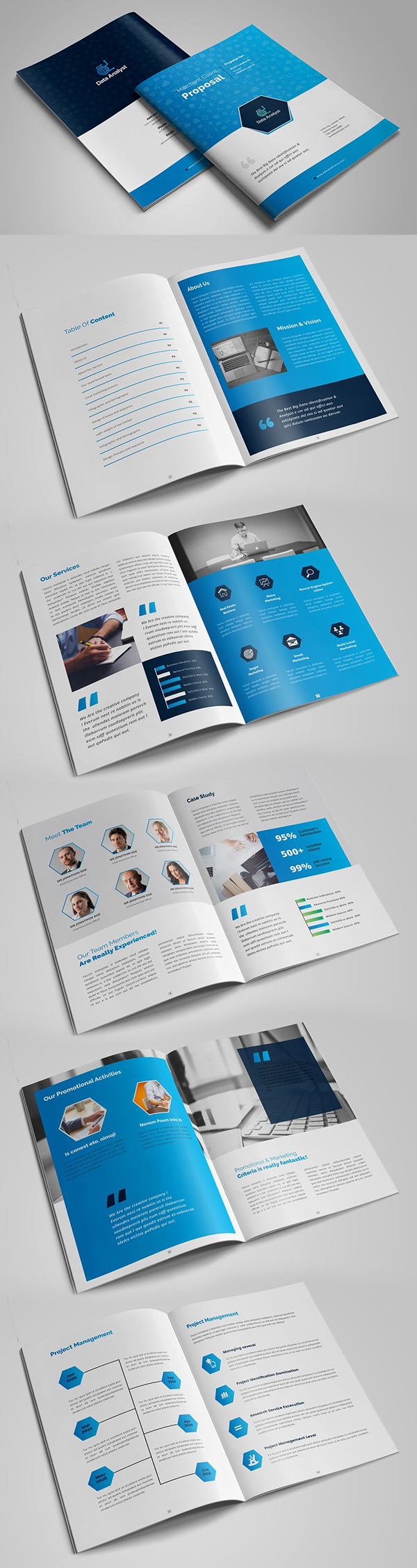 Business Project Proposal Design