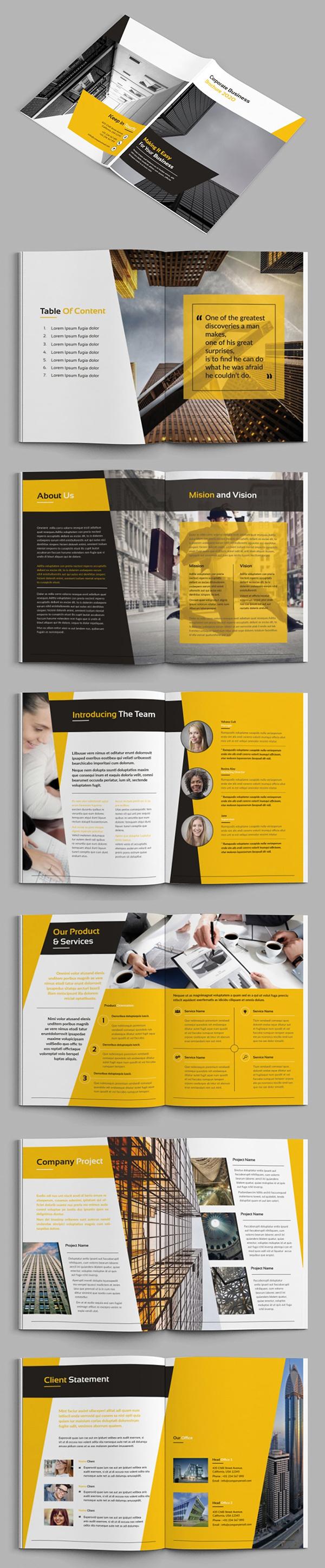 Bizpro - Business Brochure