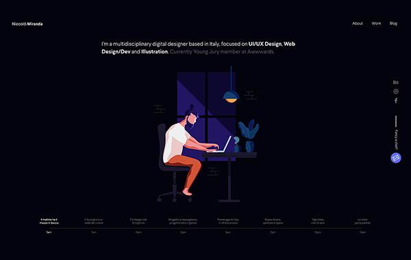 Web Design Trends 2019 - Example 17