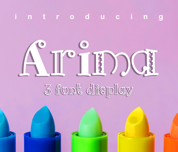 Arima Free Font