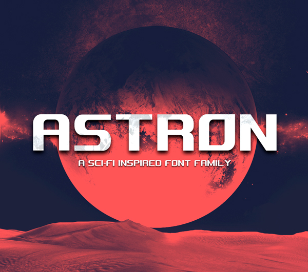 Astron Free Font