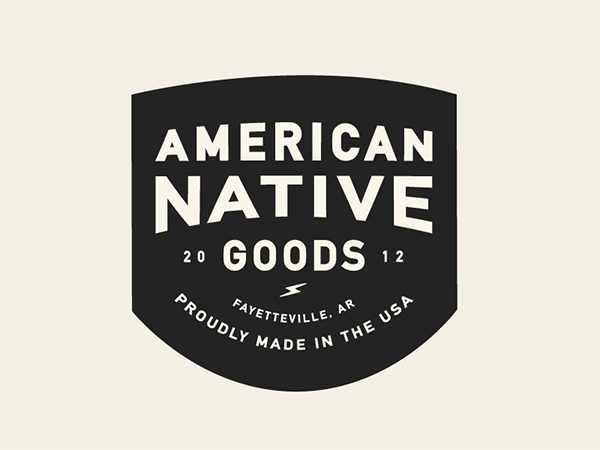 American Native Patch Lockup