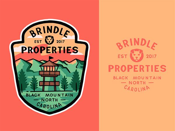 Brindle Properties Badge Logo
