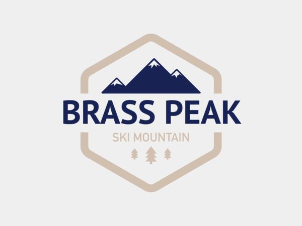 Brass Peak Ski Mountain Logo