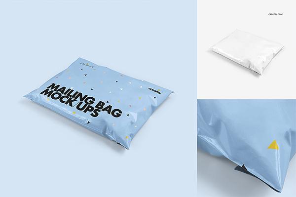Mailing Bag Mockup Set