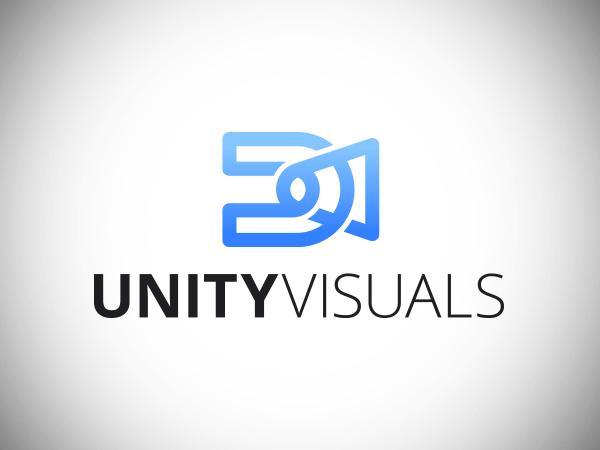 Unity Visuals Logo Design