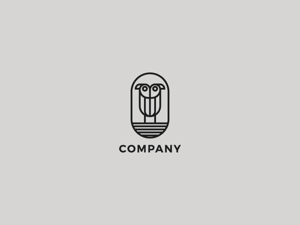 Bird Or Owl Logo Design