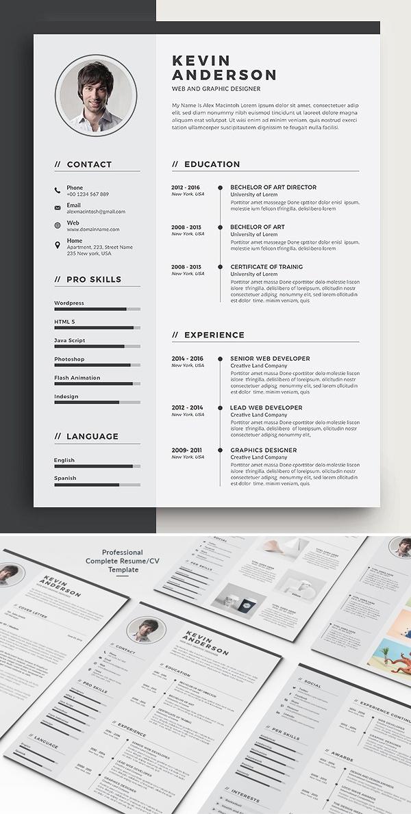 5 Page Resume / CV