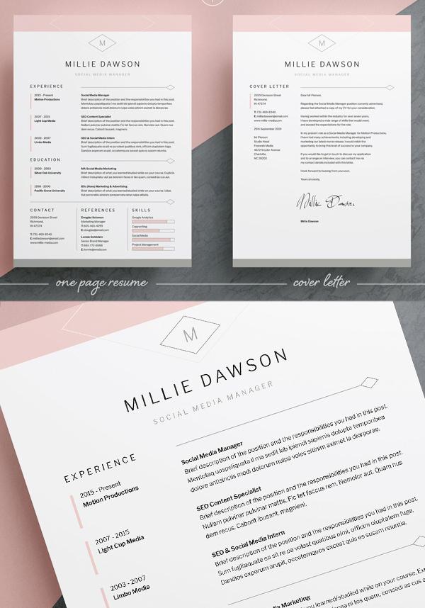 Resume / CV | Millie
